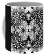 Some Reflections - A Lines And Dots And Gradual Shadings Compilation Coffee Mug