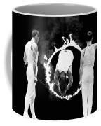 Somersault Through Flames Coffee Mug