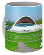 Song Festival Amphitheatre In Tallinn-estonia Coffee Mug