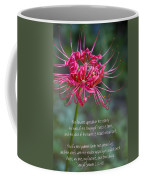 Song Of Solomon - The Flowers Appear Coffee Mug