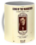 Song Of The Wanderer Coffee Mug