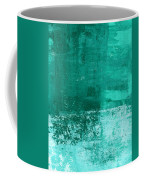 Soothing Sea - Abstract Painting Coffee Mug