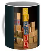 Sophia - Alphabet Blocks Coffee Mug