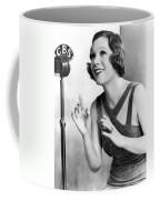 Soprano Vivienne Segal On Cbs Coffee Mug