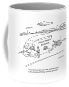 Sorry, But I'm Going To Have To Issue Coffee Mug by Michael Maslin