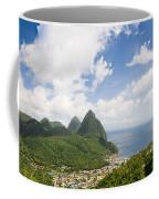 Soufriere St. Lucia Coffee Mug