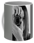 Soul-searching - Self-portrait Coffee Mug