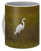 Soundside Park Topsail Island Egret Coffee Mug