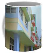 South Beach Facades Coffee Mug