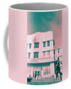South Beach Miami Leslie Tropical Art Deco Hotel Coffee Mug