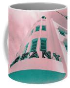 South Beach Miami Tiffany Hotel Tropical Art Deco Coffee Mug