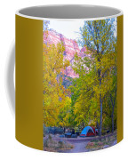 South Campground In Zion Np-ut Coffee Mug