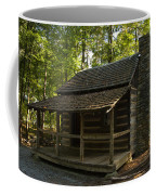 South Carolina Log Cabin Coffee Mug