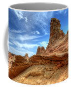 South Coyotte Buttes 8 Coffee Mug by Bob Christopher