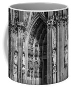 South Entrance Detail Cologne Cathedral Coffee Mug