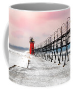 South Haven Light And Pier Coffee Mug