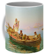 South Italian Fishing Scene Coffee Mug