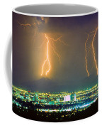 South Mountain Lightning Strike Phoenix Az Coffee Mug