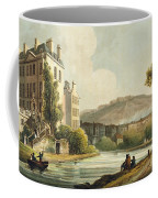 South Parade From Bath Illustrated Coffee Mug by John Claude Nattes