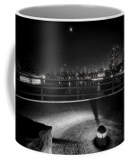 South Pond With Chicago Skyline Coffee Mug