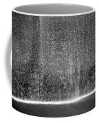 South Tower Water In Black And White Coffee Mug