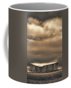 Southern Ocean In Black And White Coffee Mug