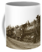 Southern Pacific Steam Locomotives No. 2847 2-8-0 1901 Coffee Mug