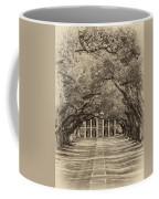 Southern Time Travel Sepia Coffee Mug