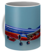 Southwest 737 Landing Coffee Mug