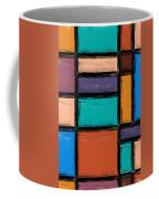 Southwest Home And Garden Color Block Coffee Mug