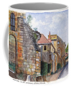 Souvigny Eclectic Architecture In A Village In Central France Coffee Mug