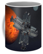 Space Colony Coffee Mug