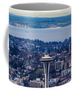 Space Needle 12th Man Seahawks Coffee Mug