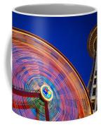 Space Needle And Wheel Coffee Mug