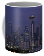 Space Needle At Twilight Coffee Mug