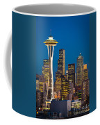 Space Needle Evening Coffee Mug