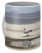 Space Shuttle Atlantis Landing Coffee Mug