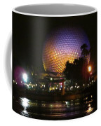 Spaceship Earth At Night Coffee Mug