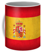 Spain Flag Vintage Distressed Finish Coffee Mug