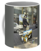Painter In Spain Series 23 Coffee Mug