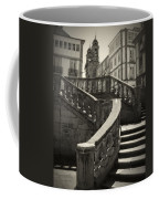 Plaza Stairs In Spain Series 24 Coffee Mug