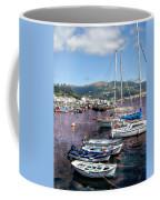 Boats In Spain Series 26 Coffee Mug