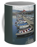 Row Boats In Spain Series 27 Coffee Mug