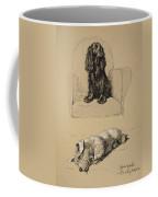 Spaniel And Sealyham, 1930 Coffee Mug