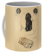 Spaniels, 1930, Illustrations Coffee Mug by Cecil Charles Windsor Aldin