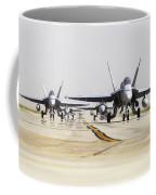 Spanish Air Force Ef-18m Hornets Coffee Mug