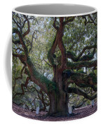 Spanish Moss Draped Limbs Coffee Mug