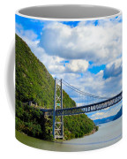Spanning The Hudson River Coffee Mug