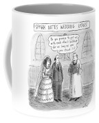 Spark Notes Marriage Vows -- A Minister Says Coffee Mug