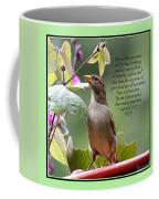 Sparrow Inspiration From The Book Of Luke Coffee Mug